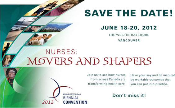 2012 Convention – Nurses: Movers and Shapers